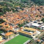 Pietrasanta aerial view